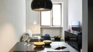 schmales wohn esszimmer moderne möbel in schwarz otto