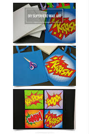 Superhero Bedroom Decorating Ideas by Diy Superhero Wall Decor Altamonte Family