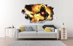 wikingerschwert wandtattoo mittelalter wohnzimmer sticker