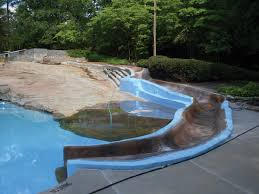 Fiberglass Slide Diving Board