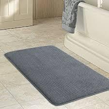 lifewit tapis de bain en mousse de mémoire absorbant