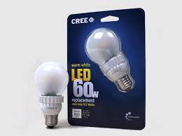 cree led light bulb energy efficient lighting incandescent