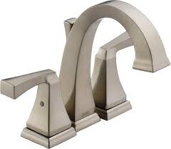 Delta Bronze Bath Faucet by Delta 4551 Ss Dryden Two Handle Mini Widespread Bathroom Faucet