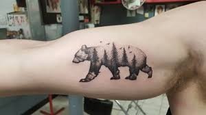 Forest Bear By Keith C Me At Spinning Needle Tattoos In Ft