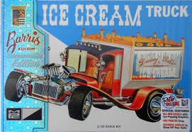 MPC GEORGE BARRIS Ice Cream Truck, New (2016 ) In Factory Sealed Box ...