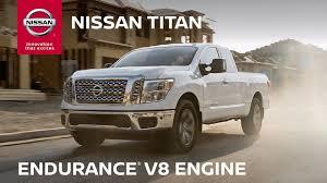 100 Nissan Titan Truck 2019 TITAN Endurance V8 Engine Efficiency YouTube