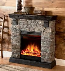 Image Of Rustic Electric Fireplaces Tips
