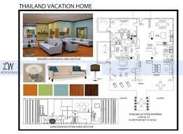 Floor Plan Template Powerpoint by Interior Design Portfolio For Job Interview Pdf Rita Starshinova