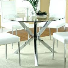 Round Dining Room Set For 4 by Small Circular Dining Table And Chairs Image Of Round Kitchen