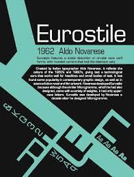 Eurostile Typography Poster By Shelbyxmarie On DeviantArt
