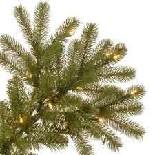 Downswept Slim Christmas Tree by Buy The 9 Ft Pre Lit Feel Real Downswept Douglas Slim Artificial