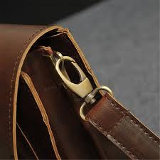 retro men bag pu leather men handbags casual business laptop bag