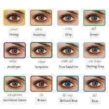 Coloured Contact Lenses Jade Blendz OPULENT LENSES