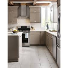 Lowes Canada Bathroom Wall Cabinets by Style Selections 12 X 24 Leonia Silver Glazed Porcelain Floor Tile
