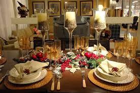 Interior Christmas Dinner Table Settings Decorations Expert Dining Terrific 12