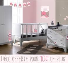 chambre bébé compléte une chambre bébé fille avec mobilier et déco et taupe avec elfina
