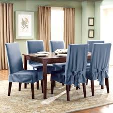 Dining Chair Pads Indoor Room Cushions Plaid Blue Chairs Large D