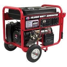 Generac Portable Generator Shed by All Power 10 000 Watt Gasoline Powered Portable Generator With