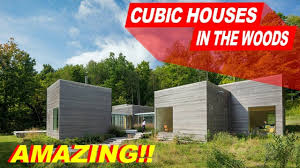 100 Cubic House Inside S In The Woods In Upstate New York YouTube