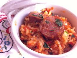 cuisiner des saucisses fum馥s riz sauté tomate poivron et saucisse fumée la cuisine de stephy