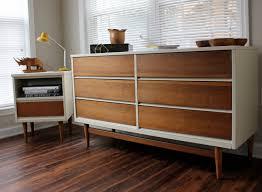 Johnson Carper White Dresser by Midcentury Dresser Set Reproduction By Revitalizedartistry On Etsy