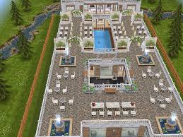Sims Freeplay Second Floor by House 100 Wedding Venue Full View Sims Simsfreeplay