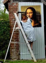 la joconde est dans les escaliers la joconde est souvent sur l escalier passezmoilajoconde
