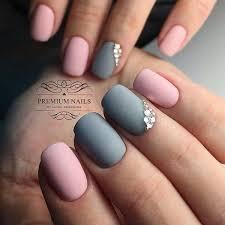Best 25 Pink grey nails ideas on Pinterest