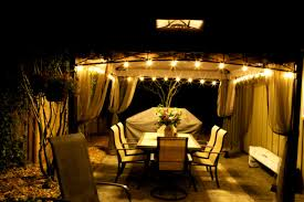 Led Patio String Lights Walmart by Bedroom Enchanting Marvelous Outdoor Gazebo Lighting String