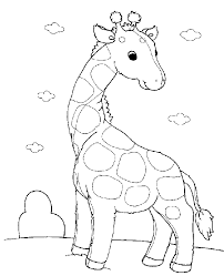Draw Coloring Pages Baby Animals 16 On Online With