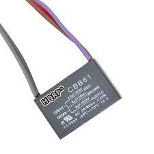 hqrp harbor breeze ceiling fan capacitor cbb61 4 5uf 6uf 6uf 5
