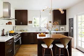 dark cabinets light floor houzz