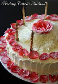 Rose Cake for A Wonderful ♥Husband♥ Happy Birthday Darling ♥