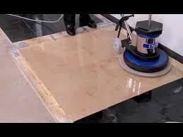 How To Polish Stone Floors Using Diamond Polishing Pads