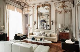 attractive parisian living room decorating ideas home decorating
