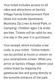 FLASH SALE AT SANTA'S VILLAGE!! – Canadian Savings Group Santas Village Azoosment Park Admission Reg 27 Travelzoo Hatton Coupons For Santas Village Acebridge Map How To Get Tickets 10 Press Enterprise Natural Balance Coupon Code Any Promo Codes Hayneedle Victoria Secret Free Shipping Walmart Gator One Card Discounts Ice Sheffield Discount Vouchers Flex Seal Whole Food Holiday Amusement Ticket Merrystockings Promo Codes Discount Coupon Mapleside Farms Dodds Hillcrest Orchard Deals 20 Old Smartsource Coupons Super Buffet