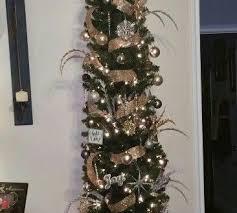 Pre Lit Pencil Cashmere Christmas Tree by Wondrous Design Ideas Slim Tree Christmas Uk White Clearance