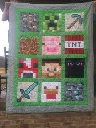 27 best Minecraft quilts images on Pinterest