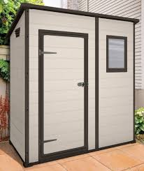 Suncast Outdoor Vertical Storage Shed by Decorating Outdoor Trash Can Storage Suncast Toter Trash Can