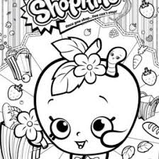 Print Shopkins Apple Blossom Coloring Pages Free Printable