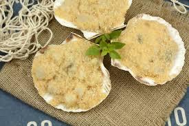 cuisiner les noix de st jacques surgel馥s comment cuisiner des coquilles jacques