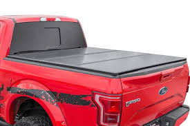 100 Truck Bed Cargo Management Amazoncom Rough Country 45509650 Hard TriFold Tonneau