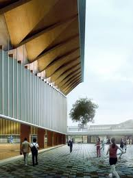 100 Nomad Architecture Nomad Office Architects Dalseong Citizens Gymnasium Competition