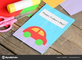 Arts And Crafts Projects For Kids Greeting Card Fathers Day Cards Cute Craft Simple Paper Children