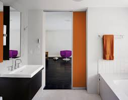 badezimmer schiebetür bilder ideen