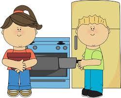 Kitchen Clipart Kid 3