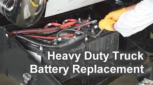 100 Heavy Duty Truck Battery Replacement The Shop YouTube