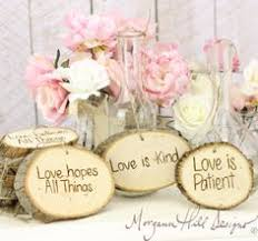 One Of My Upcoming DIY Projects Morgann Hill Designs Rustic Tree Slice Wedding Signs
