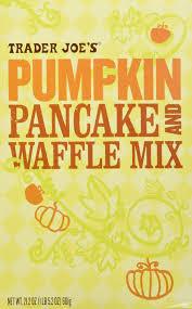 Ihop Pumpkin Pancakes Release by Amazon Com Trader Joe U0027s Pumpkin Pancake And Waffle Mix 2 Pack
