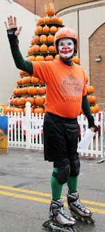 Tom Egbert Is Celebrating 20 Years As The Pumpkin Man This Year